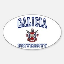 GALICIA University Oval Decal