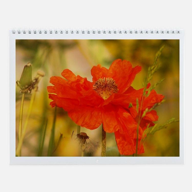 2011 Flowers Wall Calendar