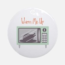 Microwave Oven Chicken Dinner Warm Me Up Ornament