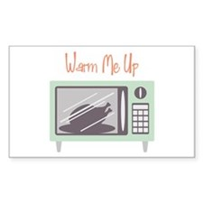 Microwave Oven Chicken Dinner Warm Me Up Decal