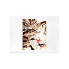 Kitty & Kat 5'x7'Area Rug