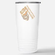 Sloth World Domination Travel Mug