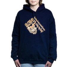 Sloth World Domination Women's Hooded Sweatshirt