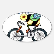 Bee on a Bike Decal