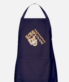 Sloth World Domination Apron (dark)