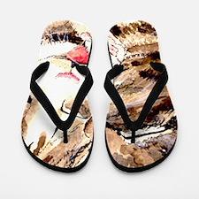 Kitty & Kat Flip Flops