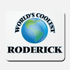 World's Coolest Roderick Mousepad