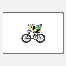 Bee on a Bike Banner