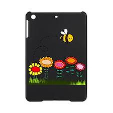 Bee Buzzing a Flower Garden iPad Mini Case
