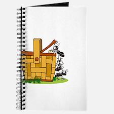 Ants Raiding a Picnic Basket Journal