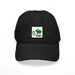RIBBIT FROG LOOK Black Cap