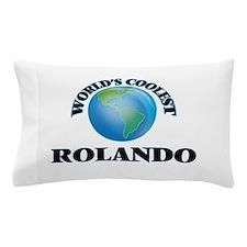 World's Coolest Rolando Pillow Case