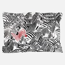 Be Different Zebra Pillow Case
