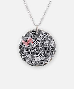 Be Different Zebra Necklace