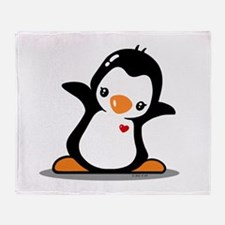 Hey Penguin! Throw Blanket