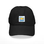 GOLDFISH SWIMMING Black Cap