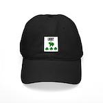 LUCKY GREEN FROG Black Cap