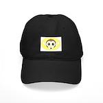 MONKEY .YELLOW BACKGROUND Black Cap