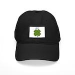 LUCKY CLOVER Black Cap