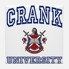CRANK University Tile Coaster