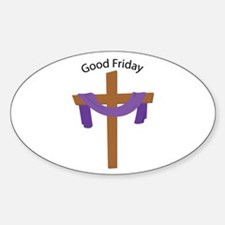 Good Friday Decal