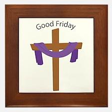 Good Friday Framed Tile