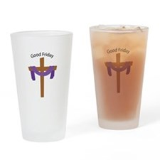 Good Friday Drinking Glass
