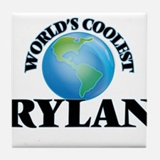 World's Coolest Rylan Tile Coaster