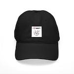 I LOVE RABBITS Black Cap