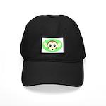 MONKEY GREEN BACKGROUND Black Cap