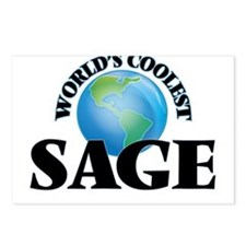 World's Coolest Sage Postcards (Package of 8)