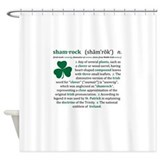 St patricks day Shower Curtains