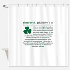 shamrock.png Shower Curtain
