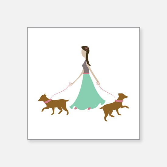 Walking Dogs Sticker
