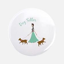 "Dog Sitter 3.5"" Button (100 pack)"