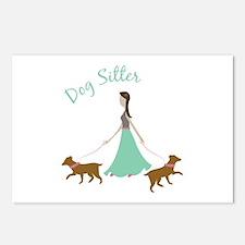 Dog Sitter Postcards (Package of 8)