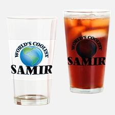 World's Coolest Samir Drinking Glass