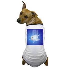 Soccer with water slpash Dog T-Shirt