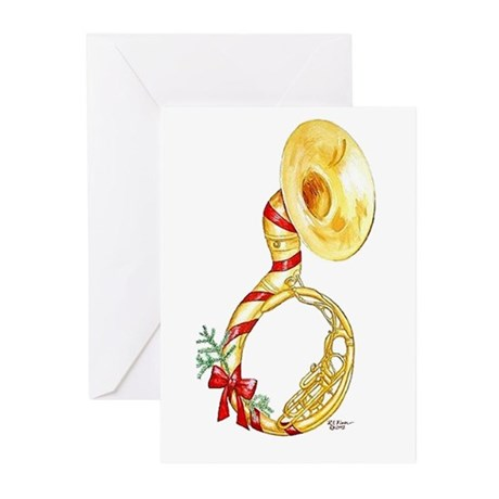 Holiday Sousaphone Cards (Pk of 10)
