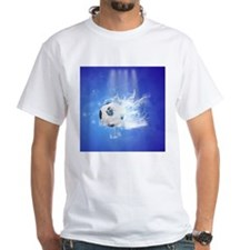 Soccer with water slpash T-Shirt