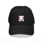 PINK HORSESHOE/COWGIRL LOOK Black Cap
