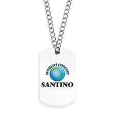 World's Coolest Santino Dog Tags