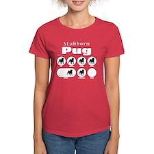 Stubborn Pug v2 Tee