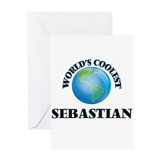 World's Coolest Sebastian Greeting Cards
