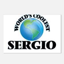 World's Coolest Sergio Postcards (Package of 8)