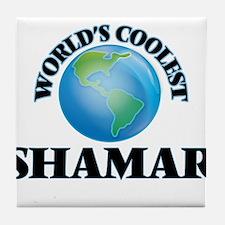 World's Coolest Shamar Tile Coaster