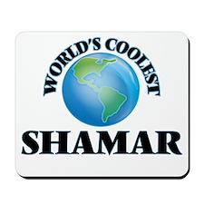 World's Coolest Shamar Mousepad