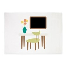 Kitchen Table Chair Chalkboard Flower Vase 5'x7'Ar
