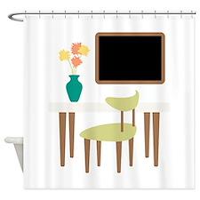 Kitchen Table Chair Chalkboard Flower Vase Shower