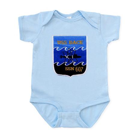 USS DACE Infant Creeper